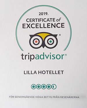 Rating Lilla hotellet Nora Tripadvisor